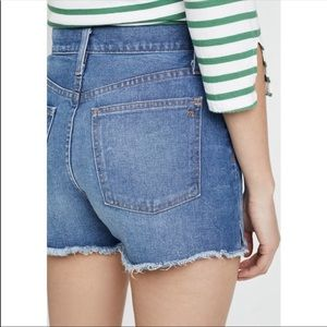 Madewell Blue Denim Shorts Size 25 Women's